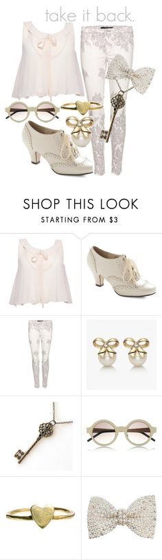 """""""Take it Back- She & Him <3"""" by princesschandler ❤ liked on Polyvore featuring Rare London, J Brand, Illesteva, VeraMeat and Dorothy Perkins"""