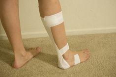 How to Wrap Achilles Tendon