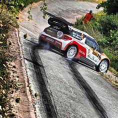 Citroen Dani Sordo Mikko WRC