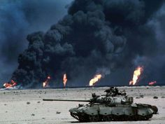 Desert Shield/Storm oil field fires | Persian Gulf War (1990-1991)