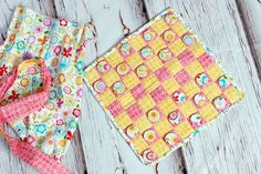 Bella Blvd Summer Breeze fabric by Riley Blake Designs. Fabric Game by DT member Christine Ousley.