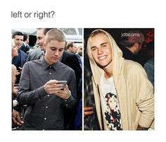 Right because he is smiling