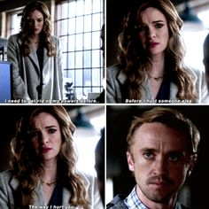 """""""I need to get rid of my powers before I hurt someone else. The way I hurt you"""" - Caitlin and Julian #TheFlash"""