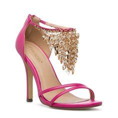 Pink Shantel sandals - ShoeDazzle