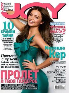 Miranda Kerr for Joy Bulgaria - March 2013