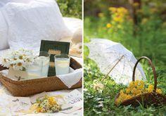 A Picnic Among the Wildflowers