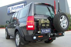 Kaymar Rear Bars, Spare Wheel Carriers, Jerrycan Holders & Accessories