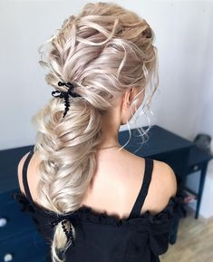 Elegant Wedding Hairstyles #weddings #bride #bridal #wedding #hairstyles #weddinghairstyles #fashion #dpf