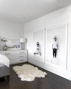 Ways To Embellish Your Kids Bedroom - home - Bedroom Home Bedroom, Master Bedroom, Bedroom Decor, Bedroom Black, Bedroom Kids, Ikea Bedroom Design, White Bedrooms, Bedroom Prints, Kids Rooms