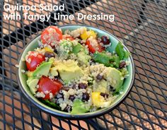 ThriceTheSpice: Quinoa Salad with Tangy Lime Dressing