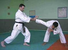 Inwards rotation straight arm lock