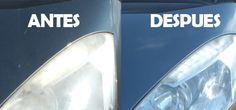 Cómo limpiar los faros opacos del coche