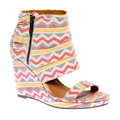 Zig Zag Wedge Gray in  from Fab on shop.CatalogSpree.com, your personal digital mall.