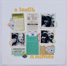A laugh a minute by *paperandglue* at Studio Calico