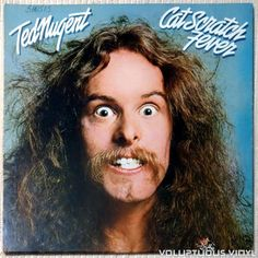 Barnes & Noble® has the best selection of Rock Arena Rock Vinyl LPs. Buy Ted Nugent's album titled Cat Scratch Fever [Limited Edition] to enjoy in your Iconic Album Covers, Rock Album Covers, Classic Album Covers, Lps, Hard Rock, Vinyl Lp, Vinyl Records, Vinyl Music, Vinyl Cover