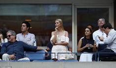Ivanka Trump, Karlie Kloss, Wendi Deng Murdoch watch the US Open | Daily Mail…