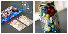 Cute DIY Birthday Treat. This would be great for work peeps.