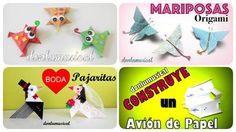 ideas DIY papiroflexia origami donlumusical
