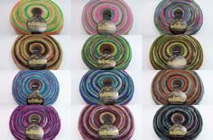 Noro Rainbow Roll Roving 12 Colors to Select From and, as of this posting, I have the best price on eBay!  #Noro #Roving #knitting #crochet #weaving #spinning #felting
