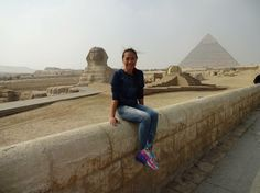 Sphinx and the Great Pyramid of Giza