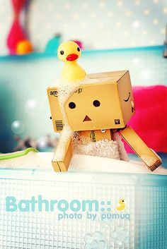 rubber ducky, you're the one...you make bath time lots of fun!