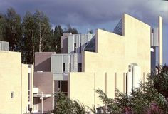 Myyrmäki Church's Poetic Functionalism Ceiling Design, Lamp Design, Landscape Elements, Clerestory Windows, Living Environment, Main Entrance, Modern Spaces, Skylight, White Paints