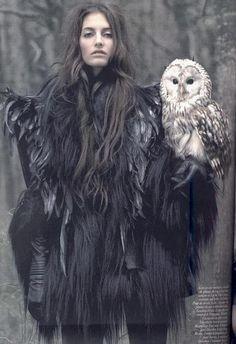 xx..tracy porter ..poetic wanderlust...-Vogue Paris Owl