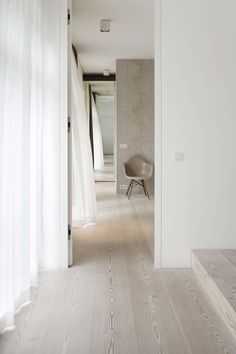 douglas fir pine boards from DINESEN White Oak Floors, Pine Floors, Interior Architecture, Interior And Exterior, Parquet Flooring, Wooden Flooring, My New Room, Interiores Design, Interior Inspiration