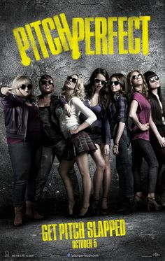 Pitch Perfect (2012) • Anna Kendrick, Skylar Astin, Brittany Snow, Rebel Wilson, Anna Camp —— Nice little a cappella romp... just try not to sing along.