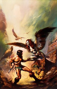 (1977) The Maker of Universes  Boris Vallejo