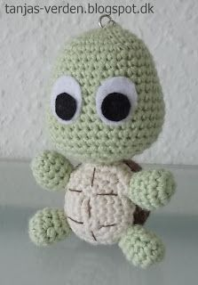 Tanja's verden..: Hæklet skildpadde
