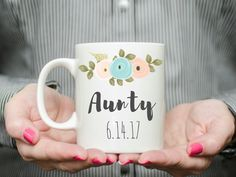 New aunt gift gift for aunt first time aunt aunt by BigSkyBibs                                                                                                                                                                                 More