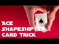 Lear easy card trick for beginners you can learn with great tutorial. Card Tricks For Beginners, Magic Tricks Videos, Easy Card Tricks, Learn Magic, Card Games, Learning, Cards, Diy Crafts, Studying