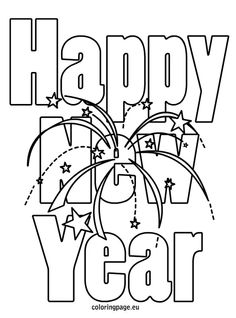 pix for new years eve coloring pages for kids worksheets pinterest worksheets