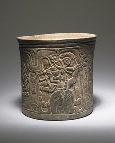 Drinking cup with image of the Maize God's birth (2016-14)