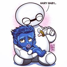 Hairy Baby!! Lord Mesa <3