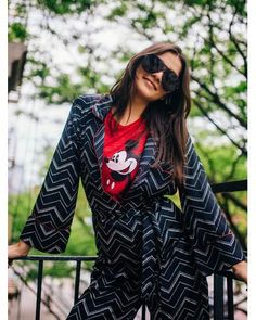 8f62882aa222d Free People - Red Mickey Mouse Tank - Lyst