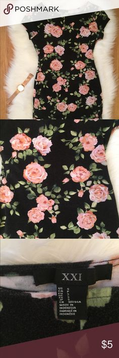 🌸F21: Pink Rose Dress 🌸 🌸F21: Pink Rose Dress 🌸 I love this dress but I already have 2 other dresses with similar rose prints 😅 Forever 21 Dresses