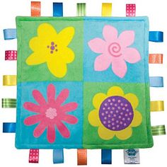 Taggies Little Blanket Colours line - Full Bloom