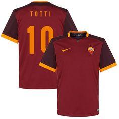 Camiseta del AS Roma 2015-2016 Local + Totti 10 (Fan Style) - Subside Sports