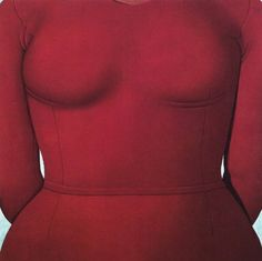 Domenico Gnoli, Purple Bust, 1969