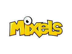 Mixels logo in vector (With some recolors) on Scratch