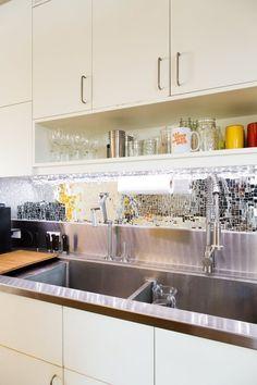 This Ingenious Sink Was Inspired by Restaurant Kitchens — Kitchen Tour | The Kitchn