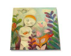"""Mattonella 15x15 """"Origami"""" ideato da LAURA BALLA— La Casa di Ninni"""