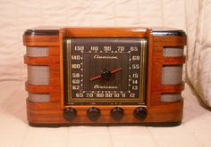 Old Antique Wood Crosley Vintage Tube Radio -Restored Working Art Deco Table Top. eBay auction ends tonight at 10:30 eastern!