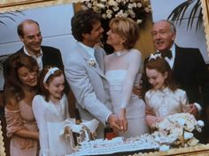 Wedding scene from the end of the Parent Trap