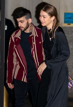 High Fashion Trends, Gigi Hadid Style, Sweet Couple, Zayn Malik, Bella Hadid, My Idol, Bomber Jacket, Models, Couples