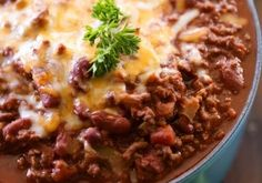 Cowboy Chili from chef-in-training.com ...This recipe is packed with amazing flavor and heat! It is SO good!