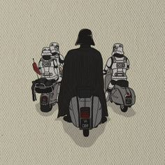 The Dark side of Vespa