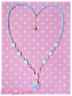 Fancy Lyrical Bunny Necklace